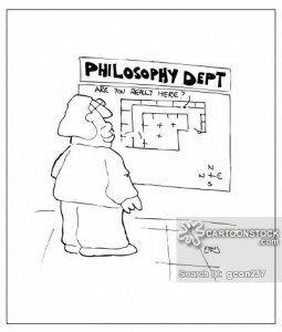 Philosophy Dept: Are you really here?